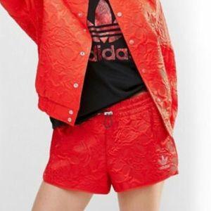 Adidas Floral Jacquard Shorts